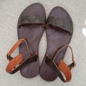 Upcycled sandals